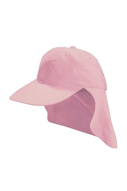 Coolibar---UV-Schutz-Sport-Sonnenhut-für-Kinder---Rosa