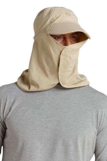 Coolibar---UV-Kopfschutz---Beige