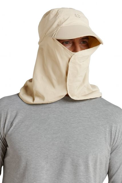 Coolibar---UV-Kopfschutz---Stone