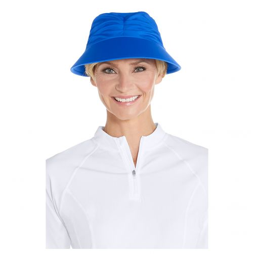 Coolibar---UV-Sonnenkappe-für-Damen---Türkis