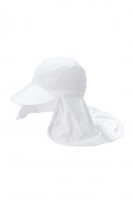 Coolibar---UV-Kopfschutz-Kappe-Herren---Weiß
