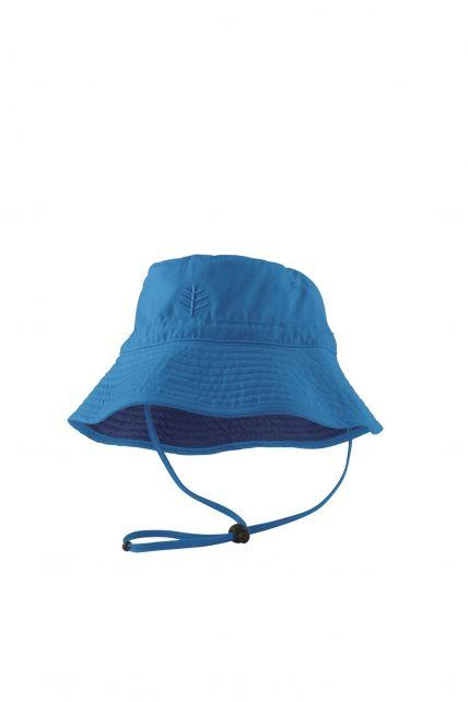 Coolibar---UV-Schutz-Sonnenhut-für-Kinder---Blau