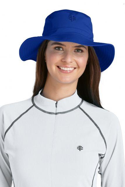 Coolibar---UV-Bucket-Hut-Unisex---Blau