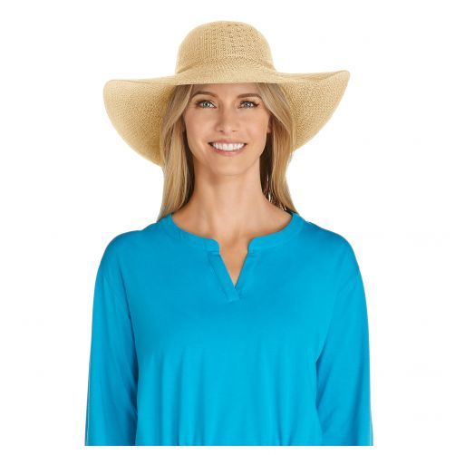 Coolibar---UV-Sonnenhut-für-Damen---Natur