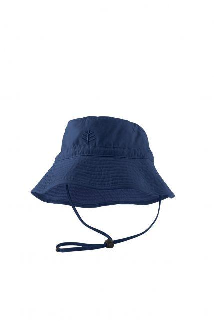 Coolibar---UV-Schutz-Sonnenhut-für-Kinder---Dunkelblau