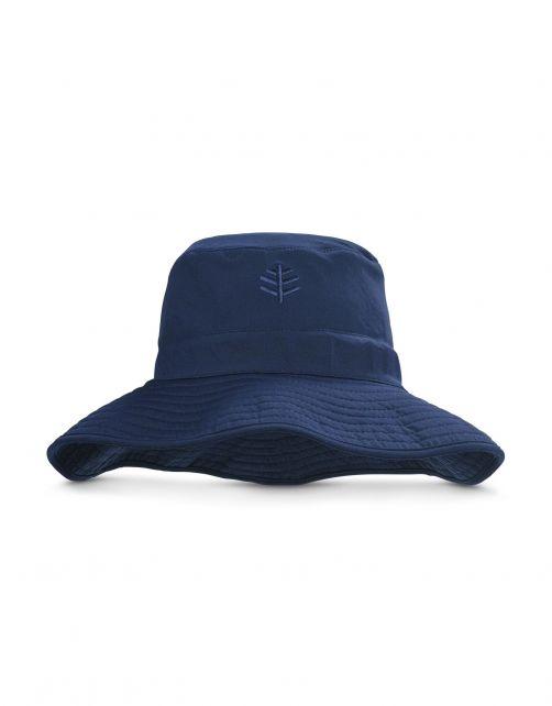 Coolibar---Chlorbeständiger-UV-Bucket-Hut-für-Herren---Nate-CR---Navy