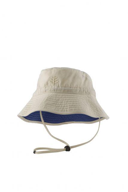 Coolibar---UV-Schutz-Sonnenhut-für-Kinder---Beige