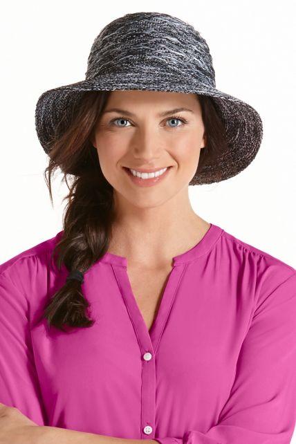 Coolibar---knitterfreier-UV-Damenhut---grau