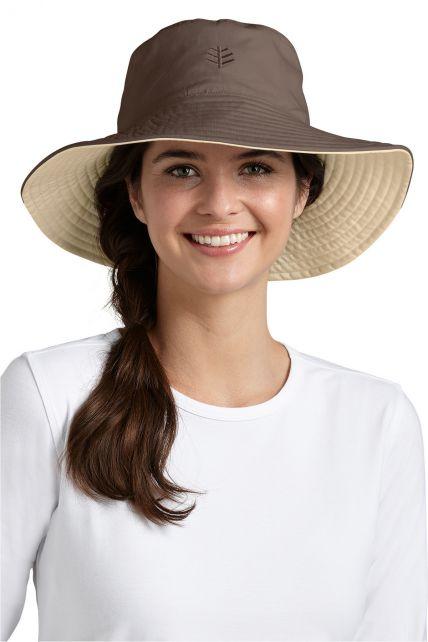 Coolibar---UV-Schutz-Damenhut---Beige