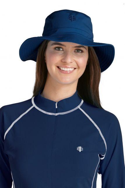 Coolibar---UV-Bucket-Hut-Unisex---Dunkelblau