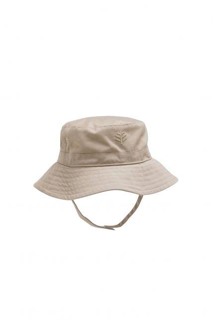 Coolibar---UPF50+-Sonnenhut-für-Baby's-Mädchen---Beige