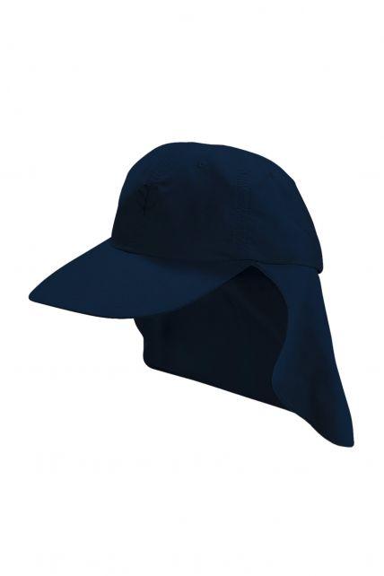 Coolibar---UV-Schutz-Sport-Sonnenhut-für-Kinder---Blau