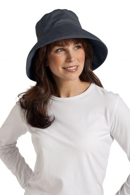 Coolibar---UV-Hut-Damen---Grau