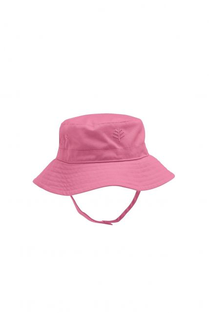Coolibar---UPF50+-Sonnenhut-für-Baby's-Mädchen---Rosa