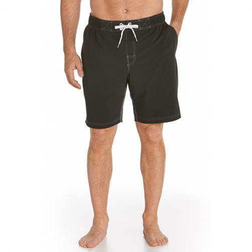 Coolibar---UV-Schutz-Schwimmhose--Herren---schwarz