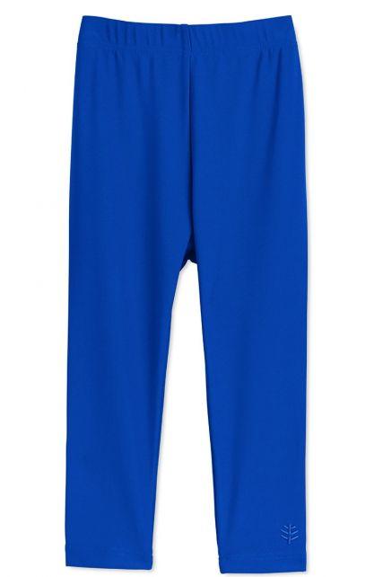 Coolibar---UV-Schwimmleggings-für-Babys---Meeresblau