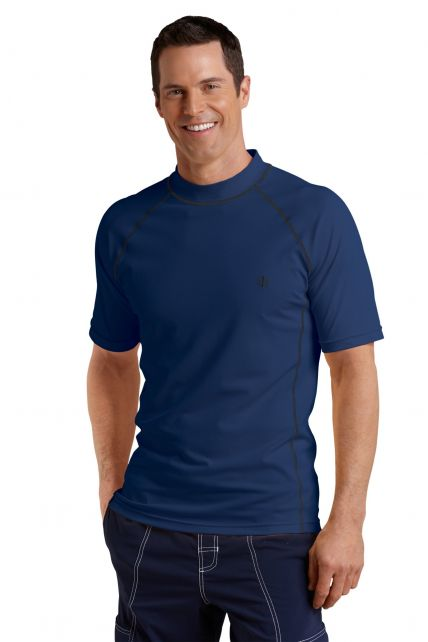Coolibar---UV-Schutz-T-Shirt-Herren---Navy