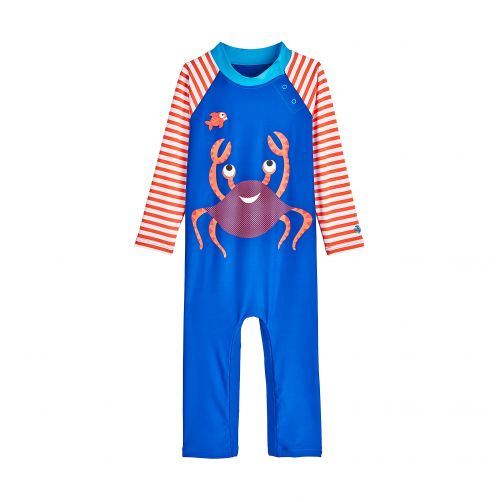 Coolibar---UV-Badeanzug-für-Babys---Krabbe