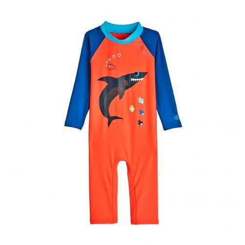 Coolibar---UV-Badeanzug-für-Babys---Haifisch