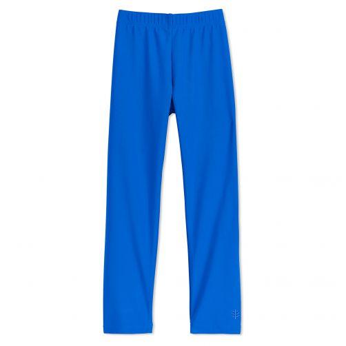 Coolibar---UV-Schwimmleggings-für-Kinder---Blau