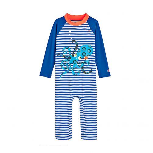 Coolibar---UV-Badeanzug-für-Babys---Tintenfisch