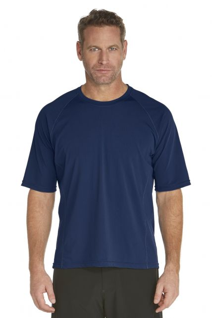 Coolibar---UV-Schutz-T-Shirt-Herren---dunkelblau
