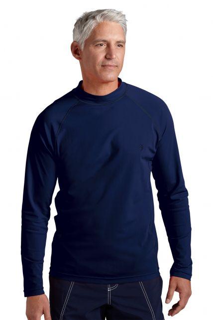Coolibar---UV-Schutz-Langarm-Shirt-Herren---Navy
