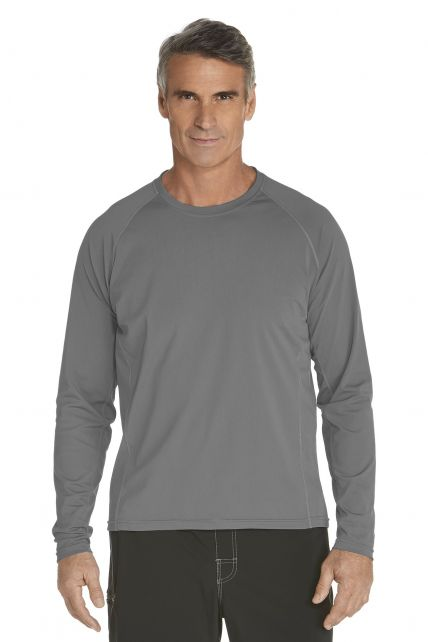 Coolibar---UV-Schutz-Langarm-Shirt-Herren---grau