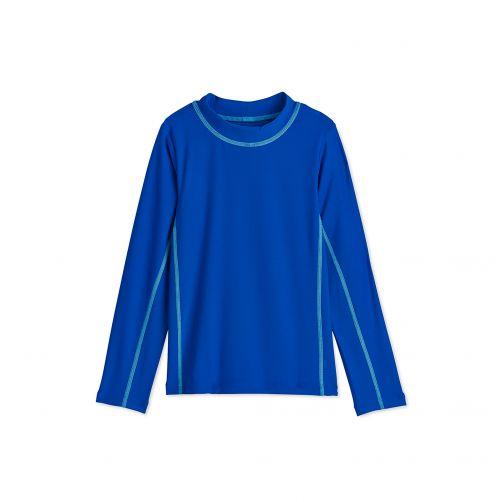 Coolibar---UV-Badeshirt-für-Kinder---Blau