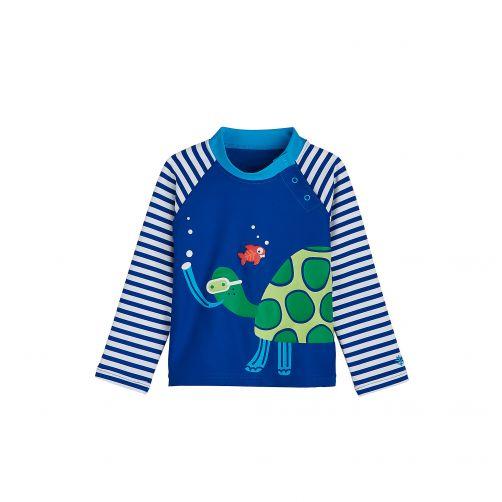 Coolibar---UV-Badeshirt-für-Babys---Schildkröte-mit-Schnorchel