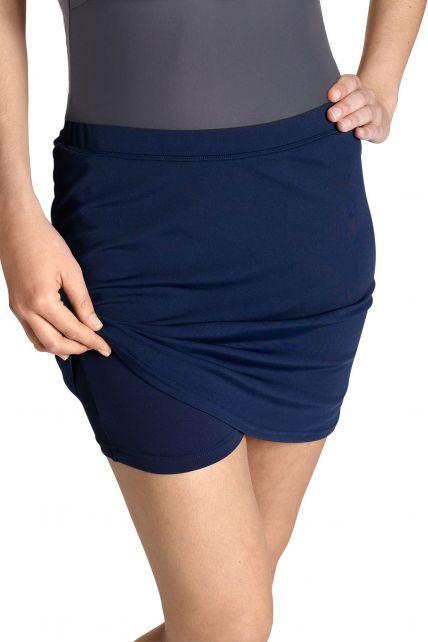 Coolibar---UV-Schutz-Skort-Hose/Rock---dunkelblau