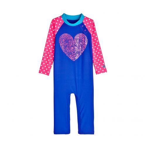 Coolibar---UV-Badeanzug-für-Babys---Herz