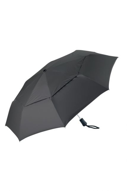 Coolibar---UPF50+-Schutz-Sonnenschirm-klein---schwarz