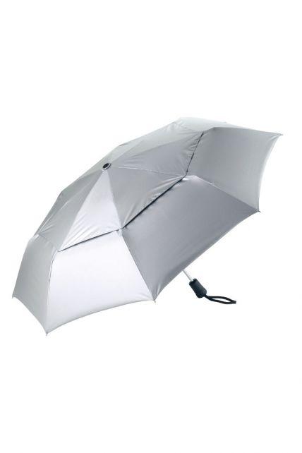 Coolibar---UPF50+-Schutz-Sonnenschirm-klein---silber