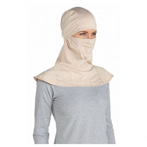 Coolibar---UV-Sonnenschutzmaske-unisex---Beige