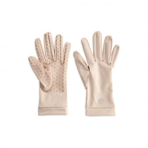 Coolibar---UV-schützende-Handschuhe-für-Erwachsene---Sawyer---Beige