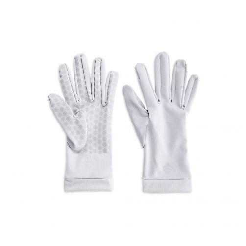 Coolibar---UV-schützende-Handschuhe-für-Erwachsene---Sawyer---Weiß
