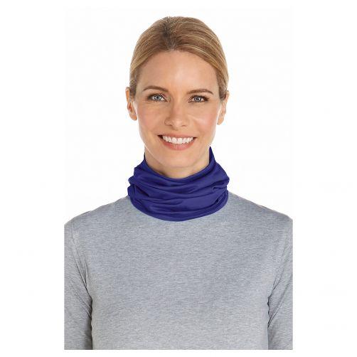 Coolibar---UV-Schlauchschal-unisex---Marineblau
