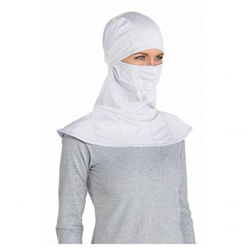 Coolibar---UV-Sonnenschutzmaske-unisex---weiß