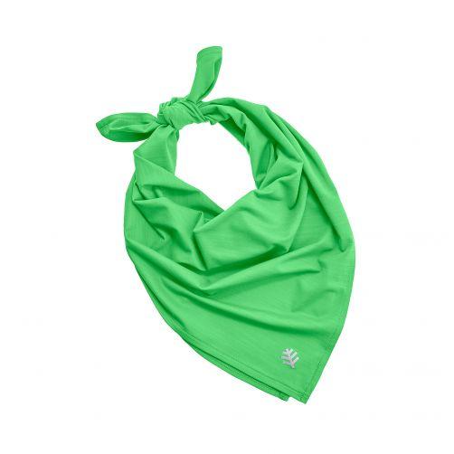 Coolibar---UV-schützendes-Bandana---Hellgrün