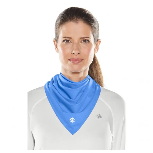 Coolibar---UV-schützendes-Bandana---Hellblau