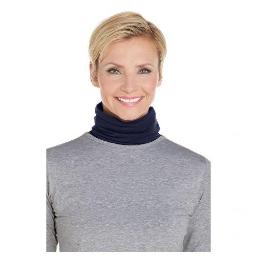 Coolibar---UV-schützender-Nackenschutz-für-Erwachsene---Key-West---Navy