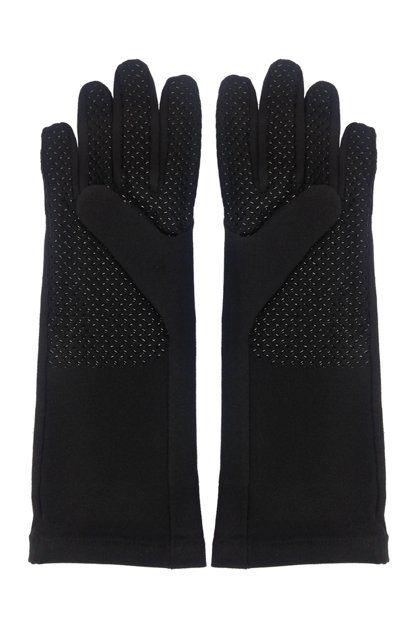 Coolibar---UV-schützende-Handschuhe---Schwarz