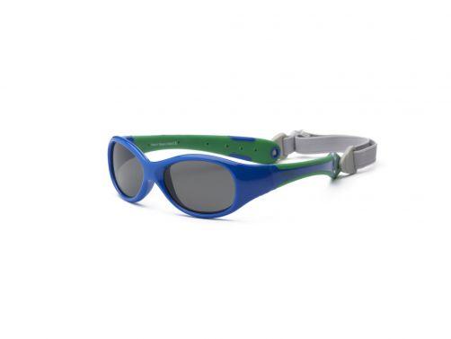 Real-Kids-Shades---UV-Sonnenbrille-Baby---Explorer---Blau/Grün