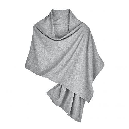 Coolibar---UV-Sonnenschal-für-Damen---Grau