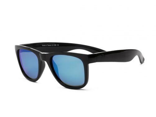 Real-Shades---UV-Sonnenbrille---Unisex---Schwarz-/-Blau-Weiß
