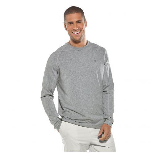 Coolibar---UV-Shirt-für-Herren---Grau-meliert