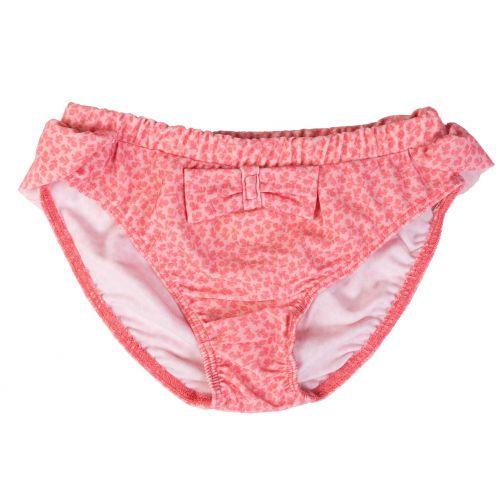 Petit-Crabe---UV-Bikinishorts---Geblümt---Rosa