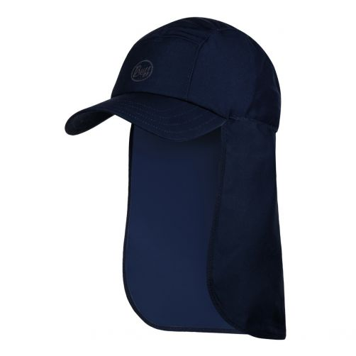 Buff---Bimini-UV-Kappe-mit-Nackenklappe---Nachtblau