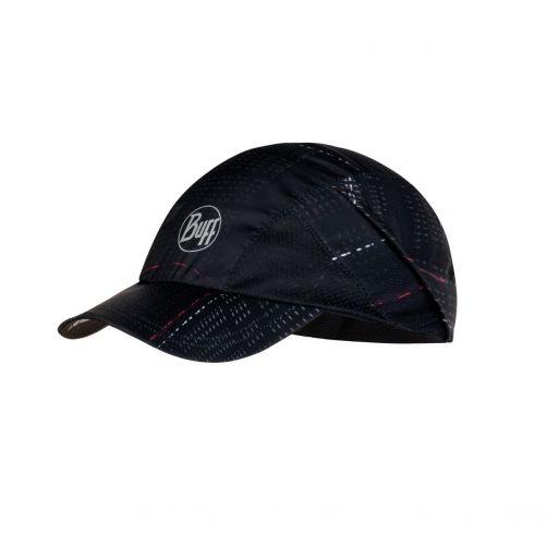 Buff---UV-Schutzkappe-für-Erwachsene---Pro-Run-Cap---Schwarz